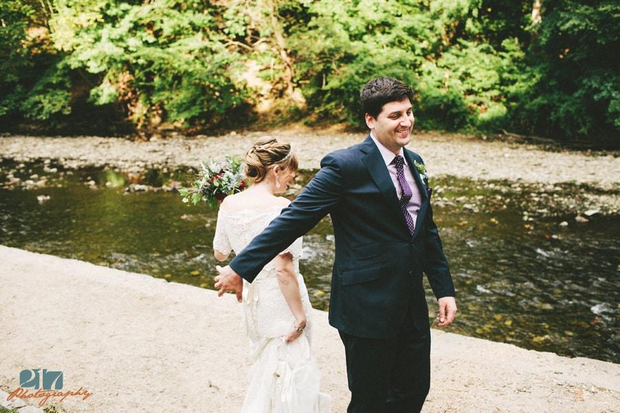 Wedding photographer Chestnut Hill Hotel