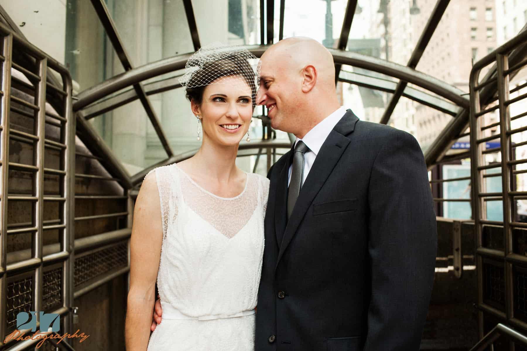 Center City Philaelphia Wedding Photos
