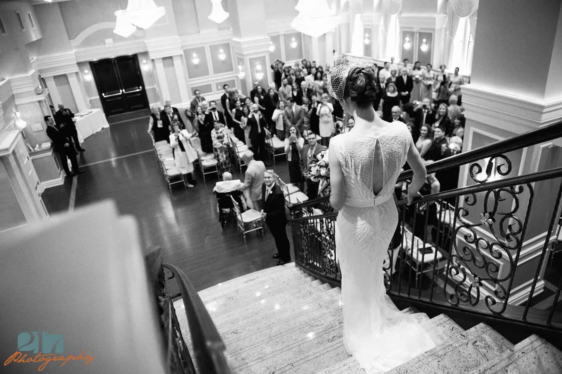 wedding photos at Arts Ballroom