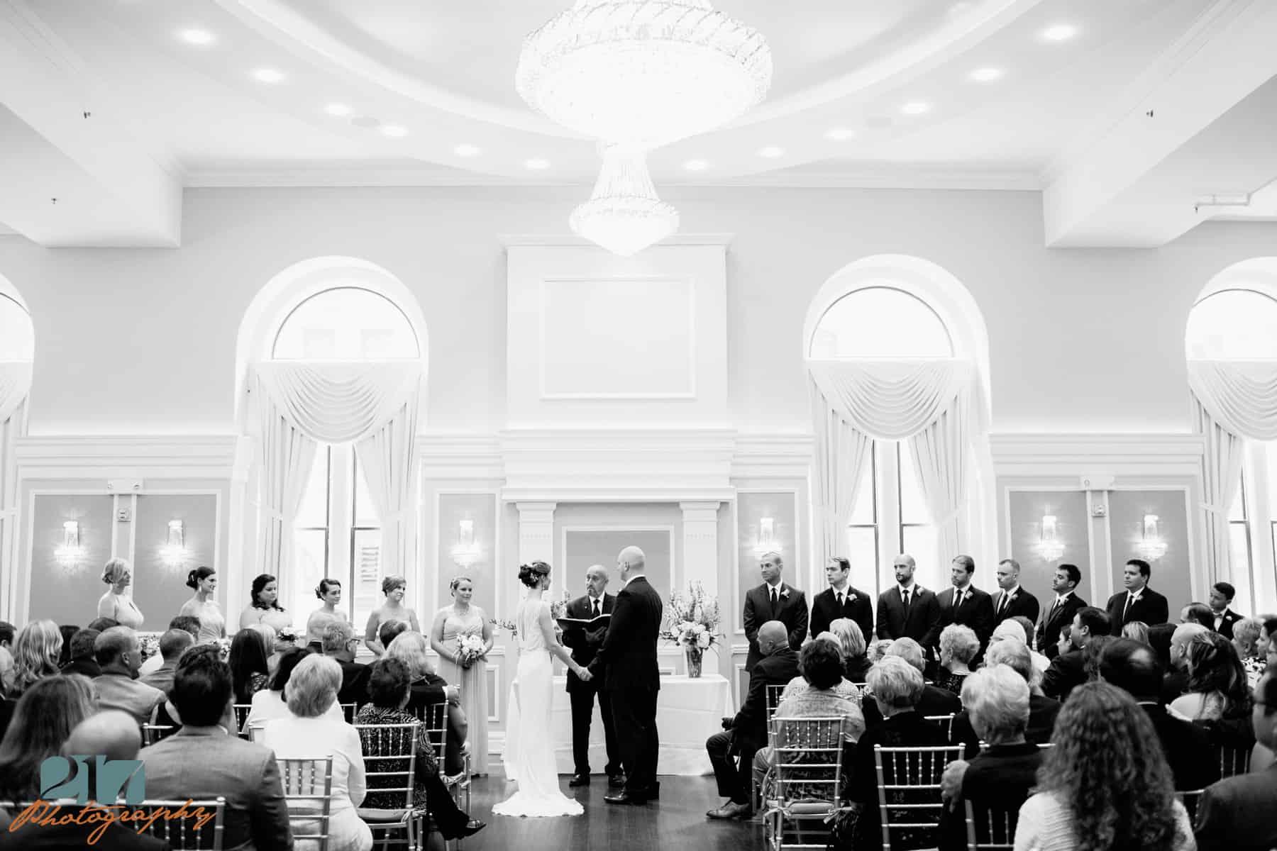 wedding photographers at Arts Ballroom