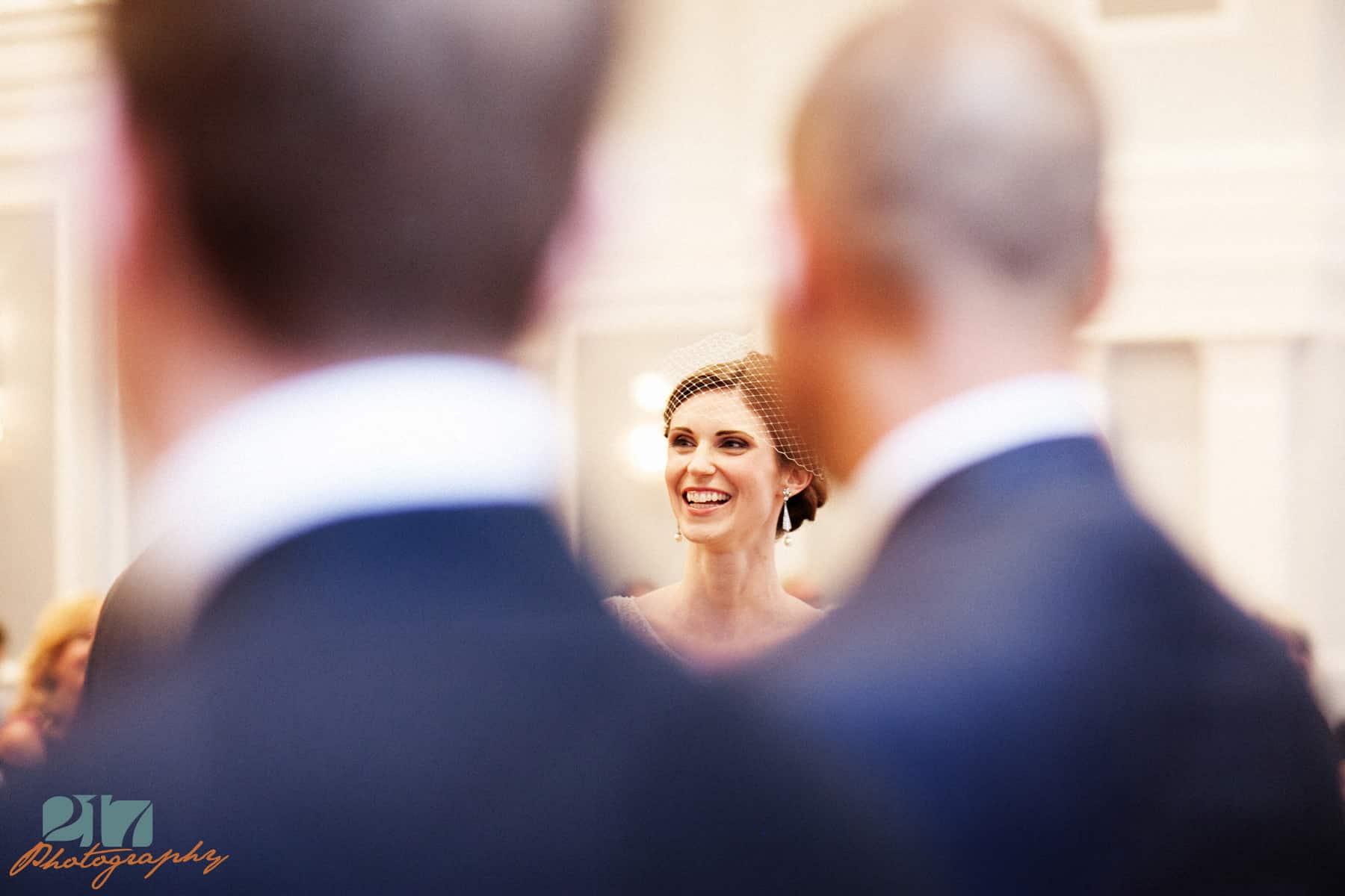 Wedding Ceremony Arts Ballroom Philadelphia