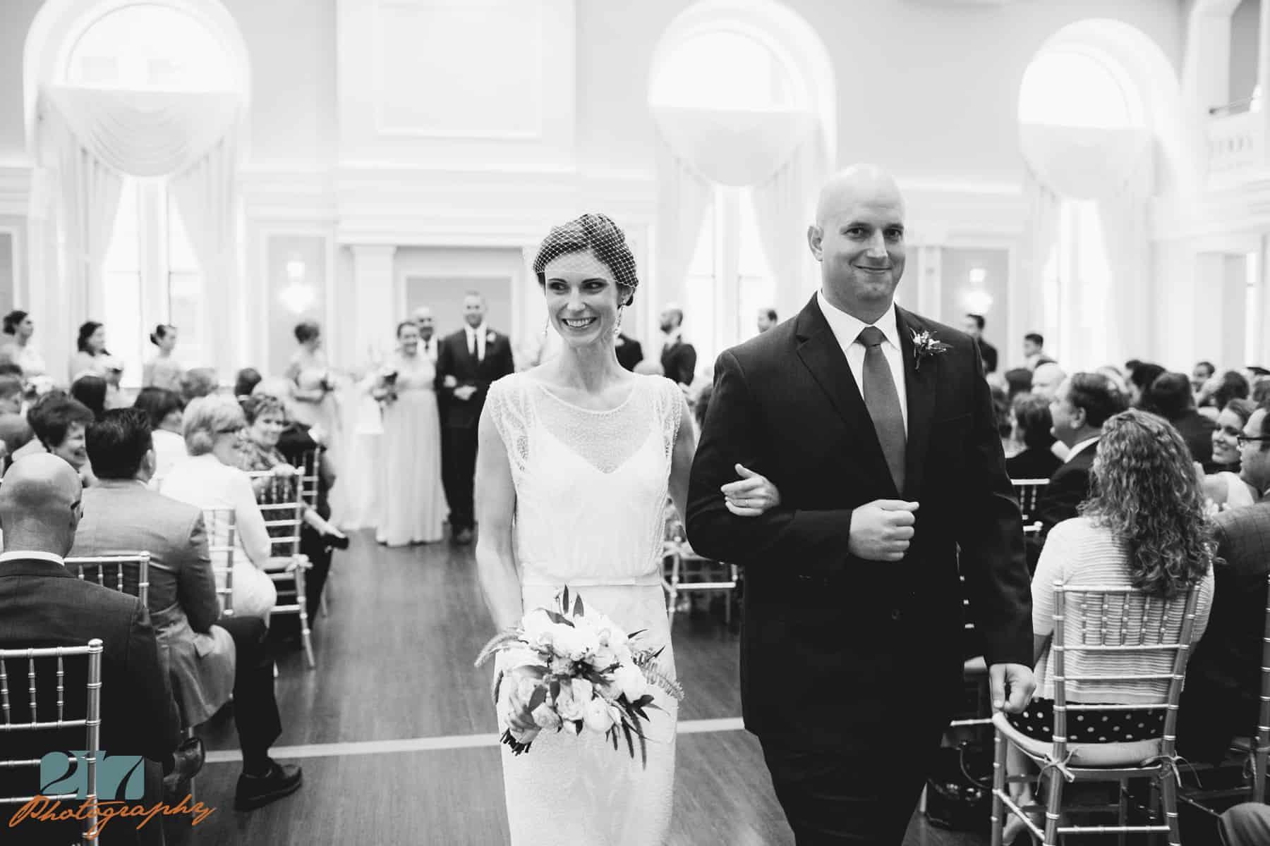 Philadelphia wedding ceremony