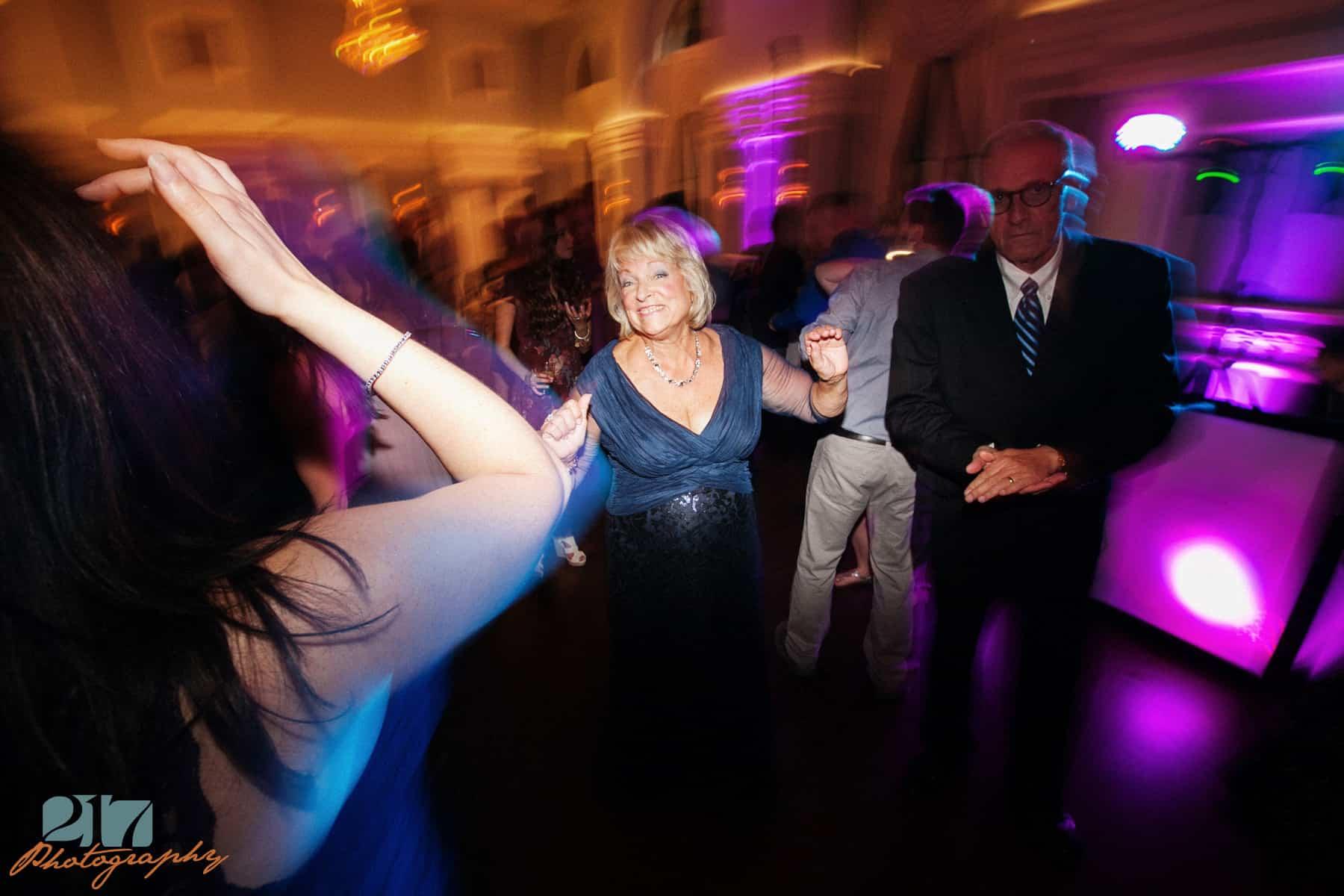 Dancing at wedding reception Arts Ballroom