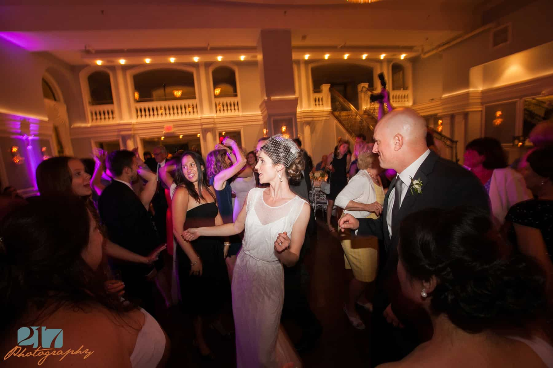 wedding reception arts ballroom