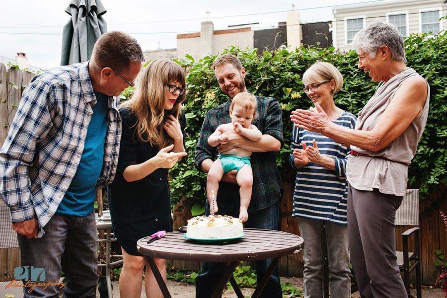 Baby first birthday party photographers Philadelphia