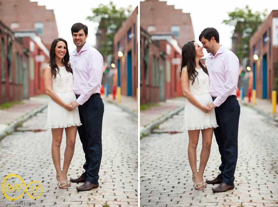 Engagement Photos Old City Philadelphia
