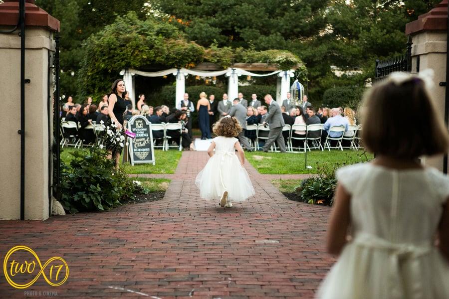 Outdoor wedding venue philadelphia