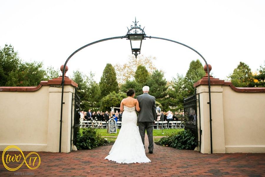 wedding ceremonies belle voir manor