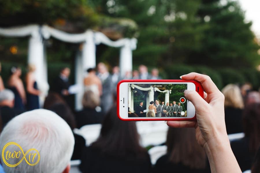 iphone wedding photos