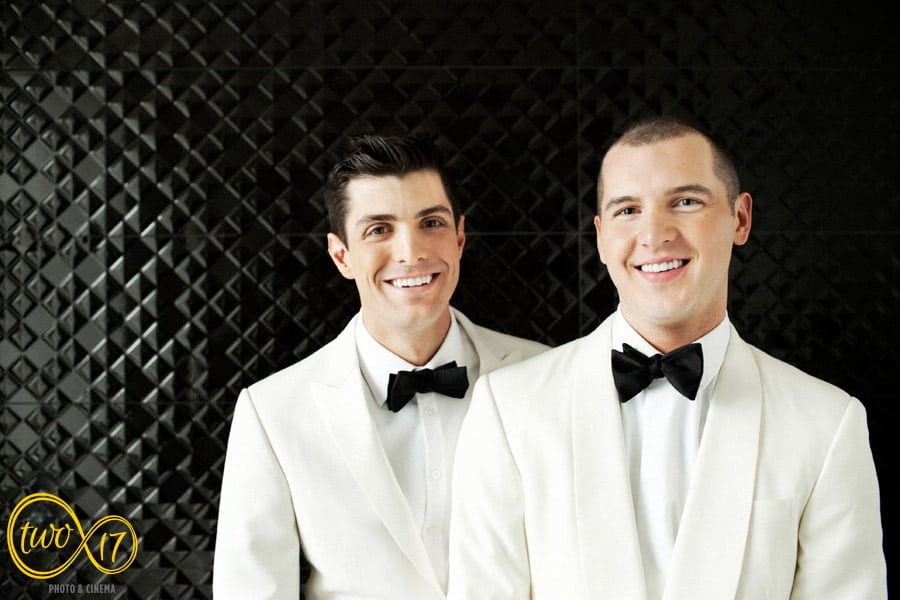 Hotel Monaco Philadelphia gay wedding
