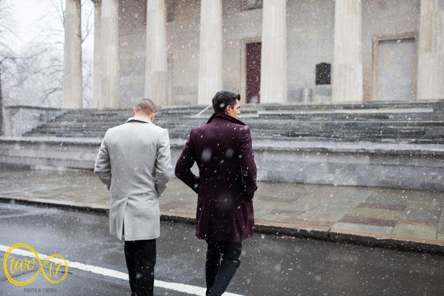 Winter Wedding Philadelphia