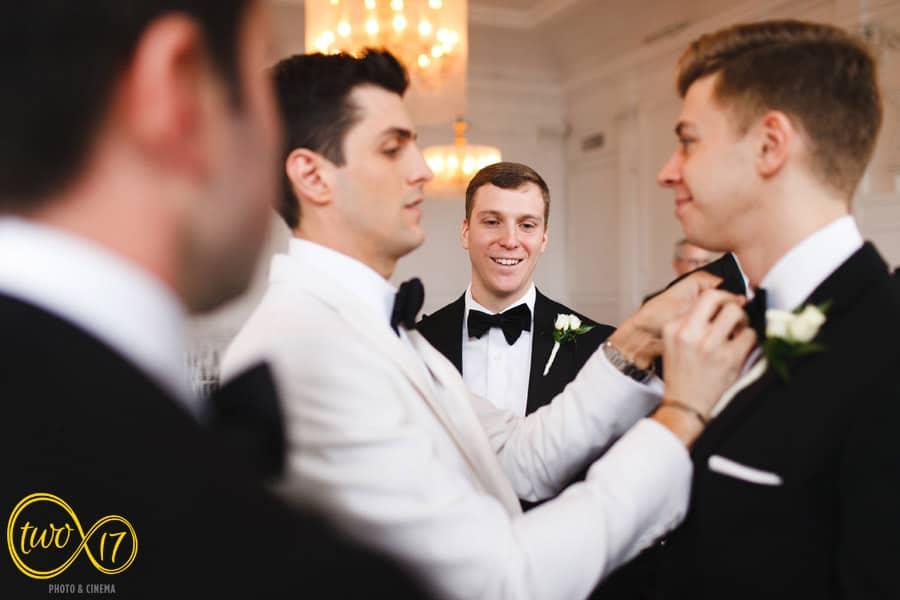 Cescaphe Downtown Club Wedding Photographer