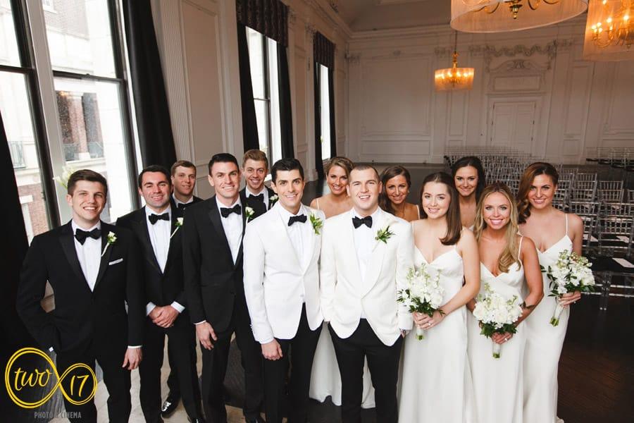Cescaphe Downtown Club Wedding Pictures