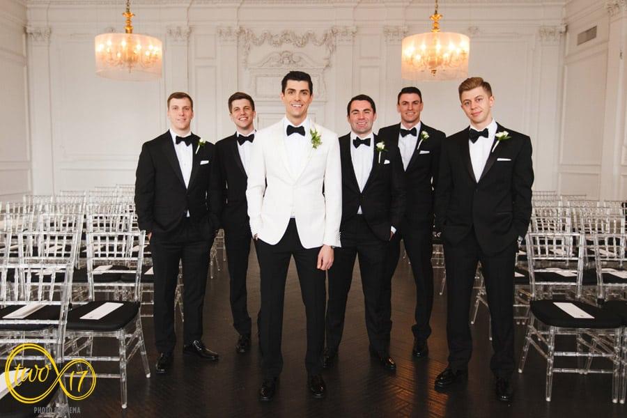 Downtown Club Wedding Photographer