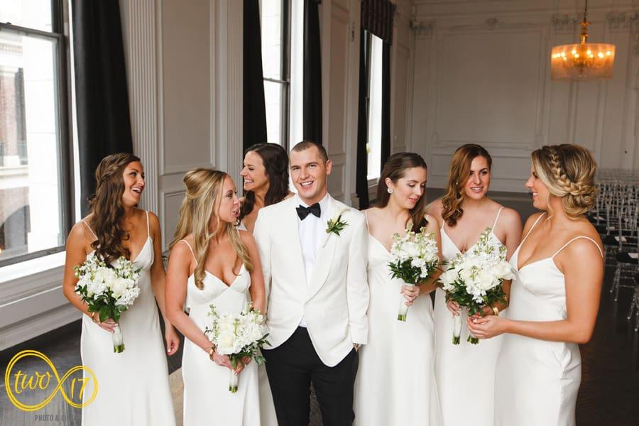 Downtown Club Wedding Photography