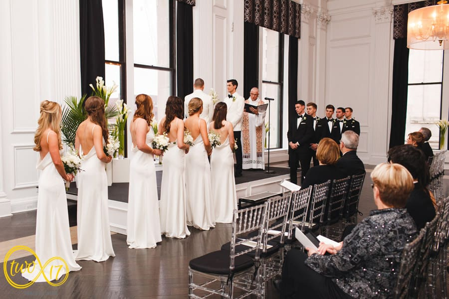 Same Sex Wedding Ceremony Philadelphia Downtown Club