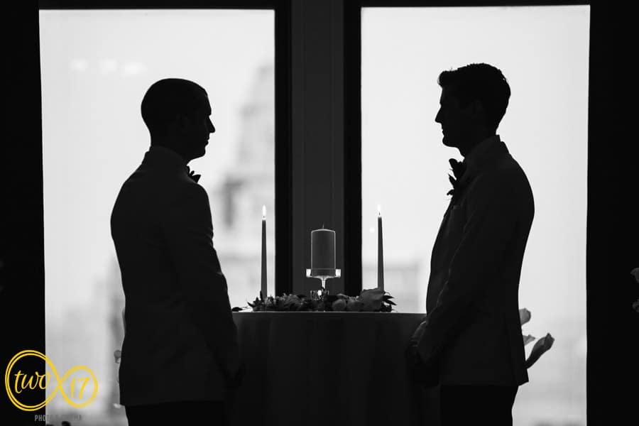 Same Sex Wedding Photos Philadelphia Downtown Club