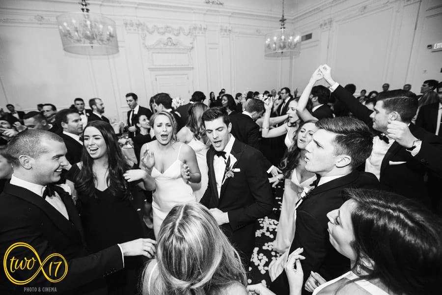 Wedding reception Downtown Club