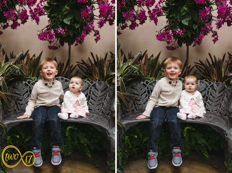 Family Photographers Longwood Gardens