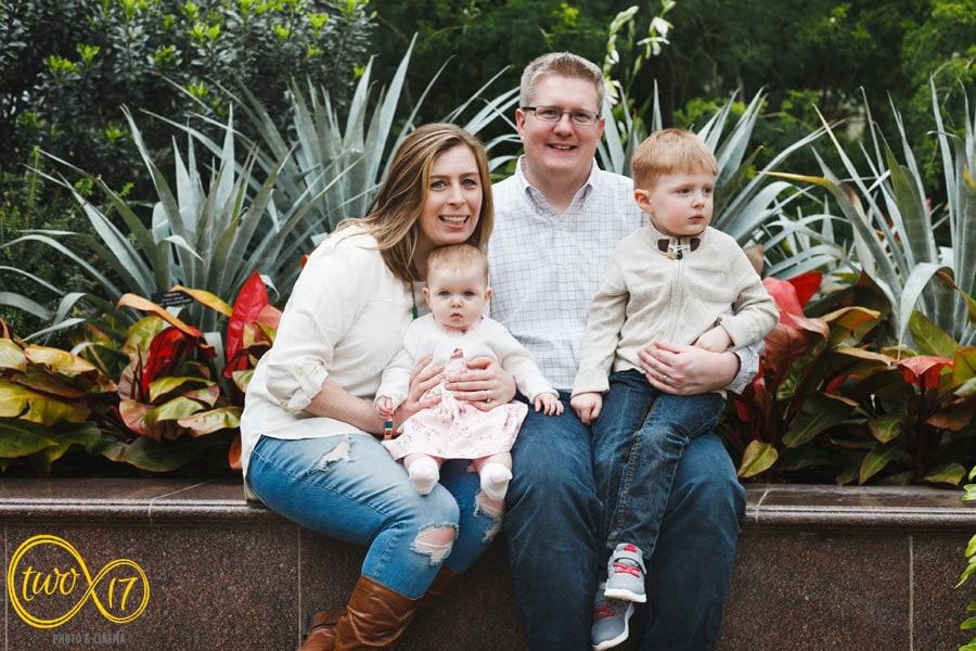 Longwood Gardens Family Photography