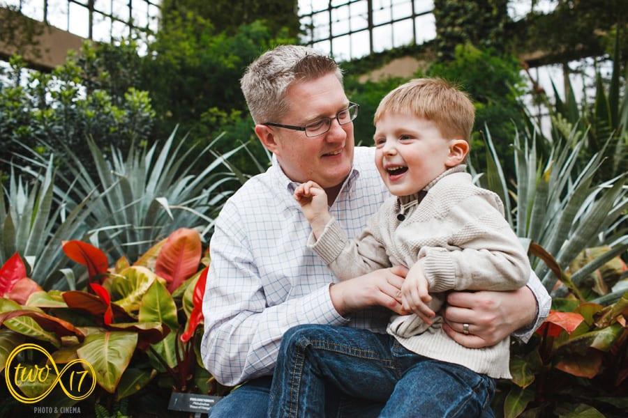 Longwood Gardens Family Photo session