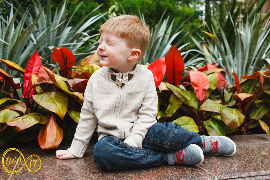 Longwood Gardens Family Pictures