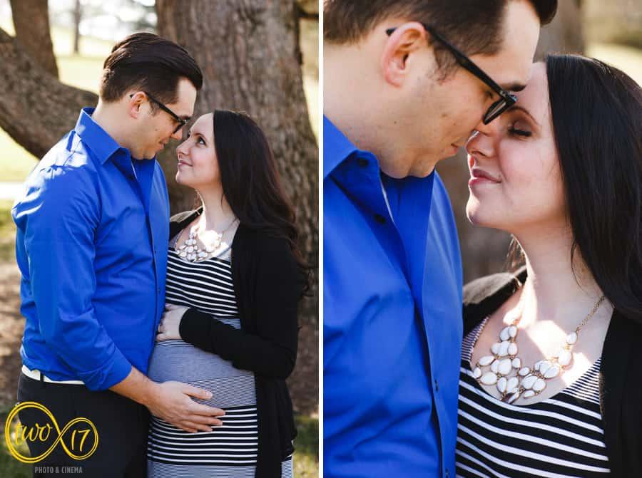 Maternity Photographers Longwood Gardens