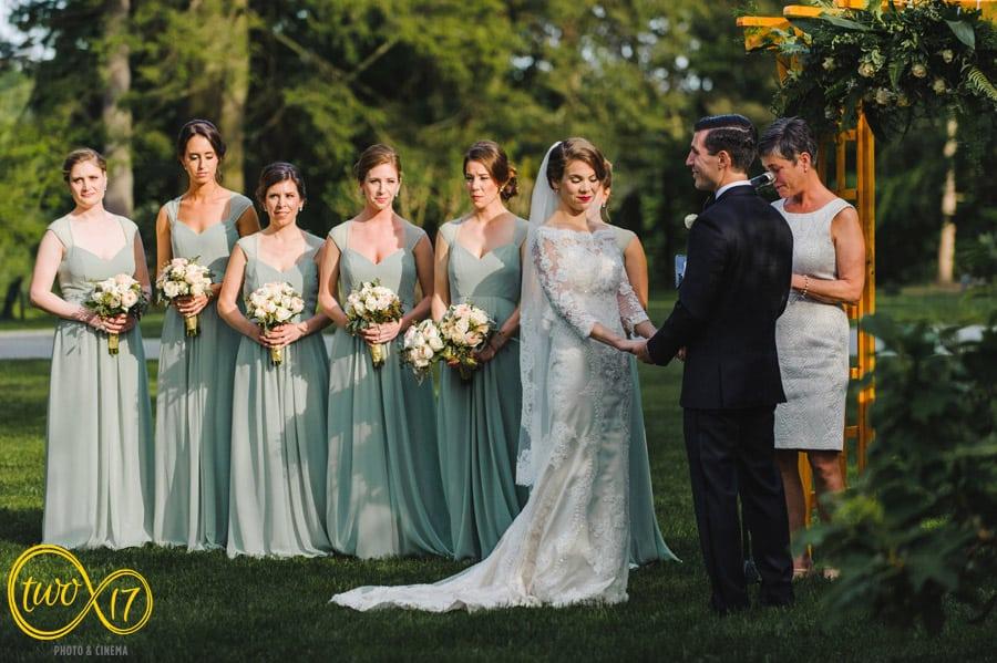 Outdoor wedding venues Philly