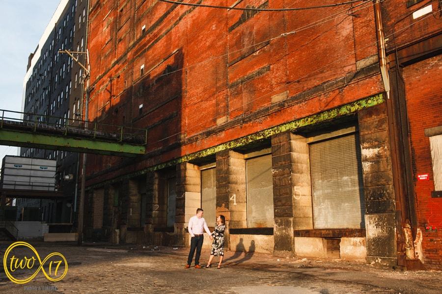 Philadelphia Engagement Photographers Old City
