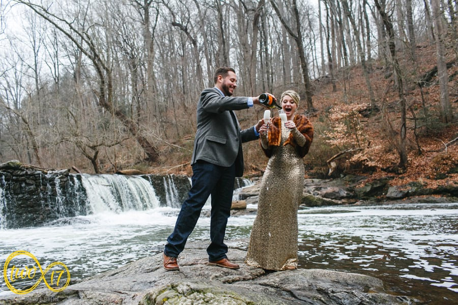 Winter Engagement Session Photography