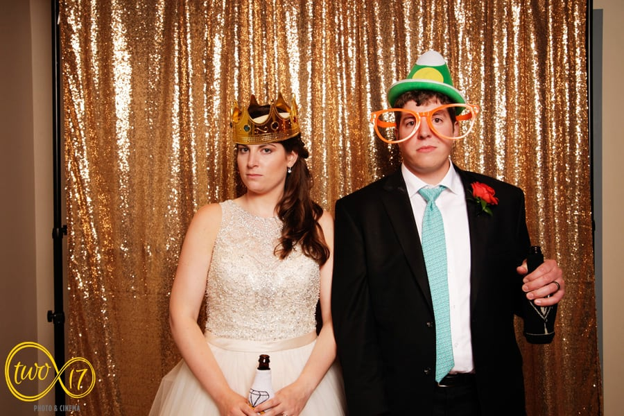 Philly wedding photo booth