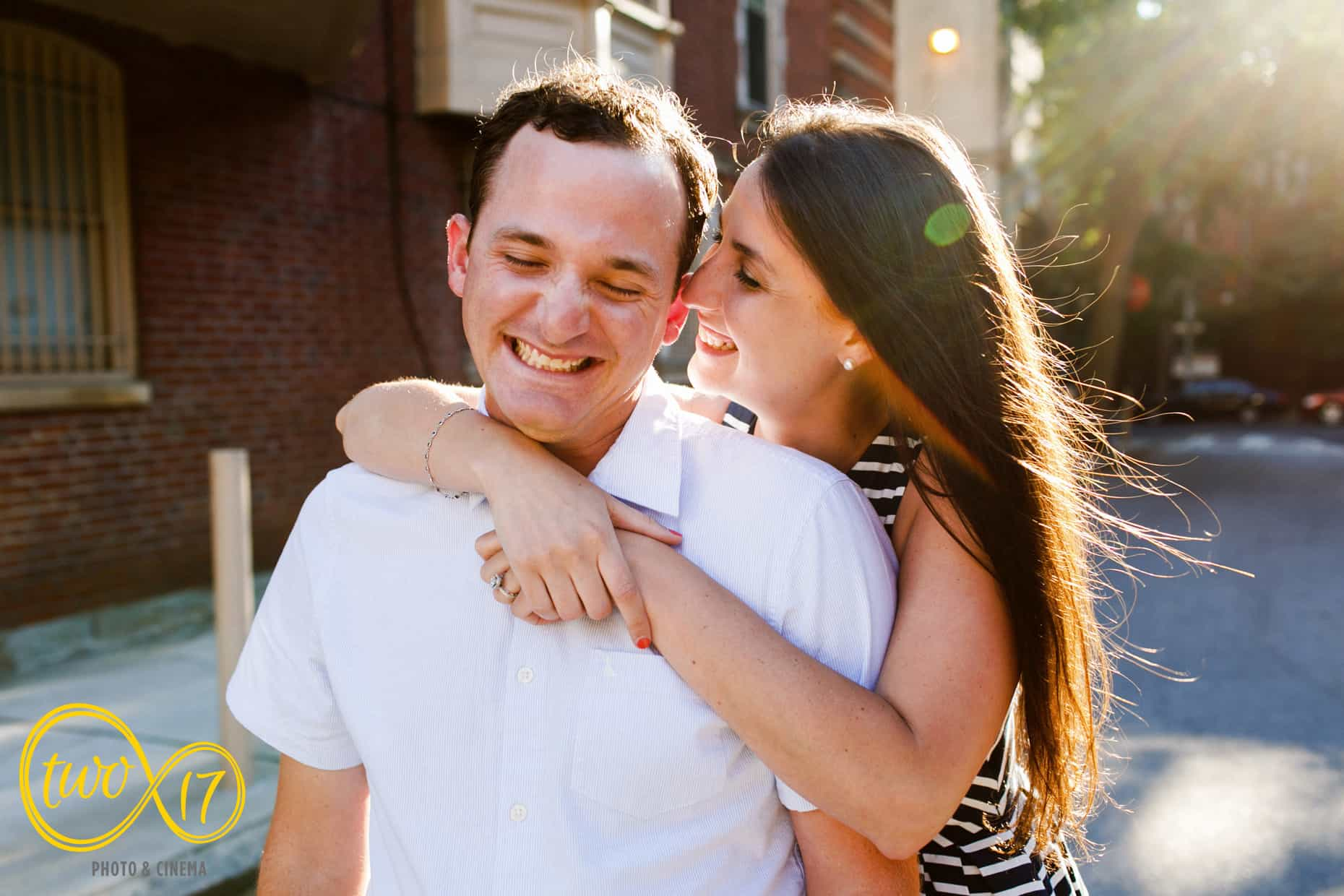 Philly engagement sessions