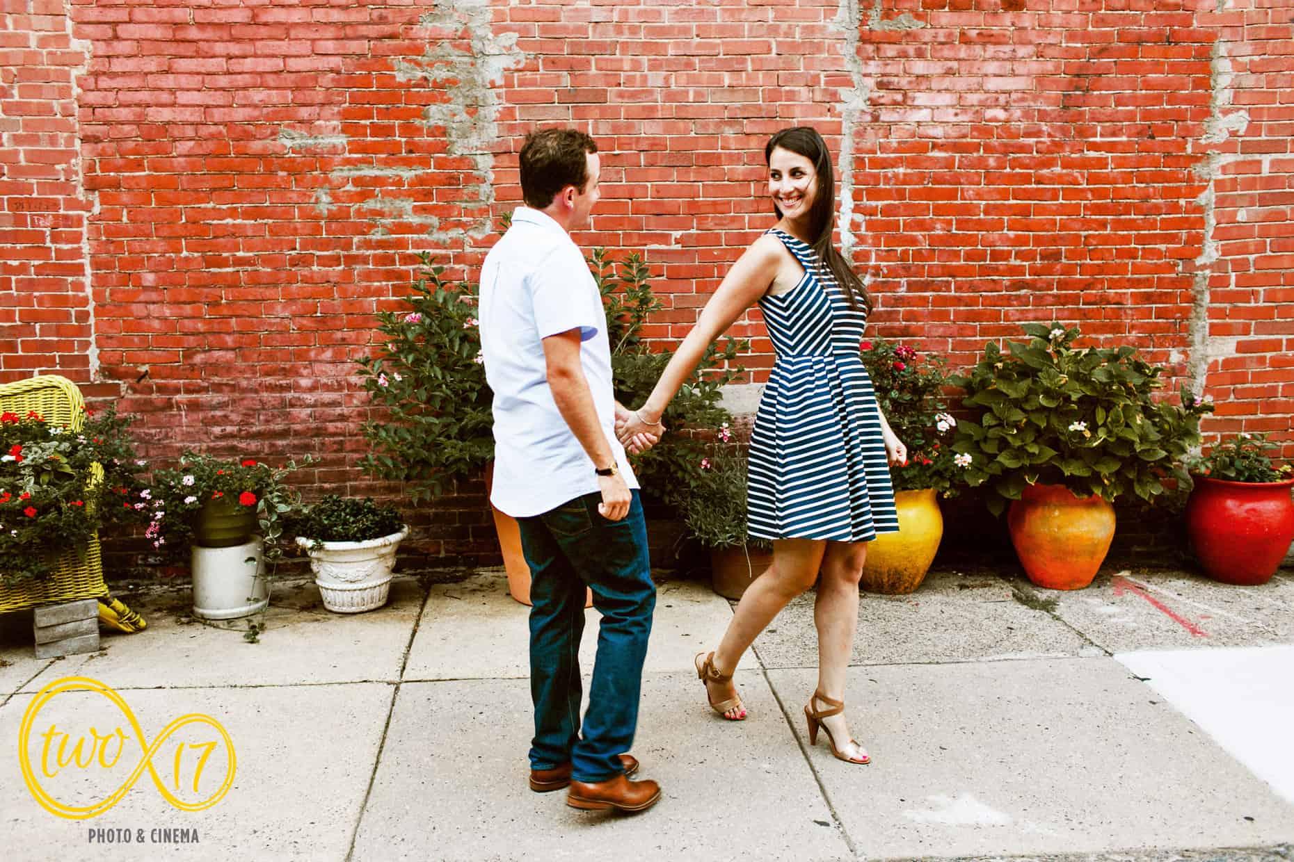 Engagement Sessions Center City Philadelphia