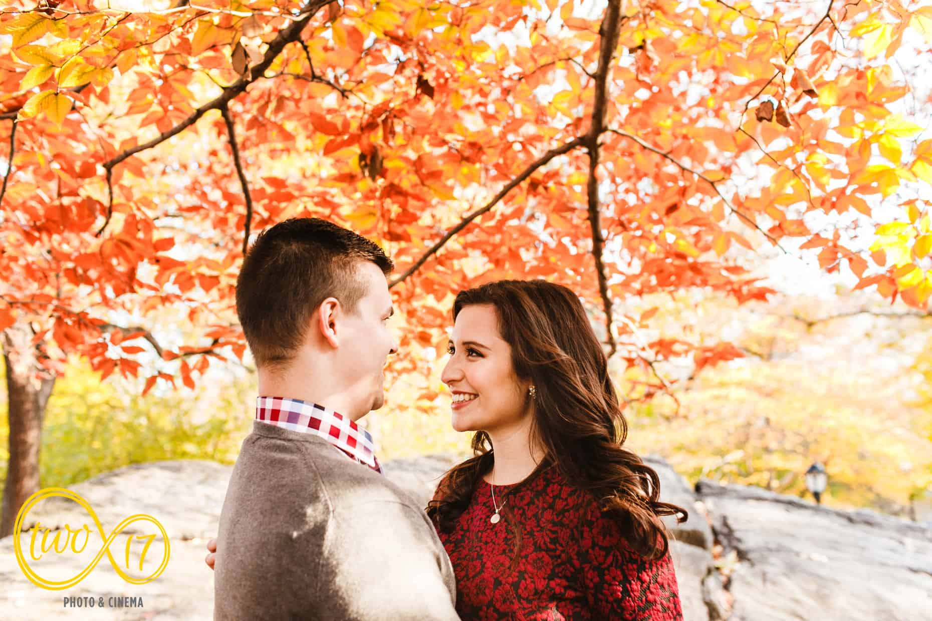 Central Park New York Engagement Session Photographers