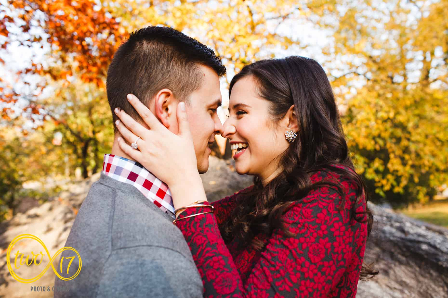 Fall Engagement Session New York City