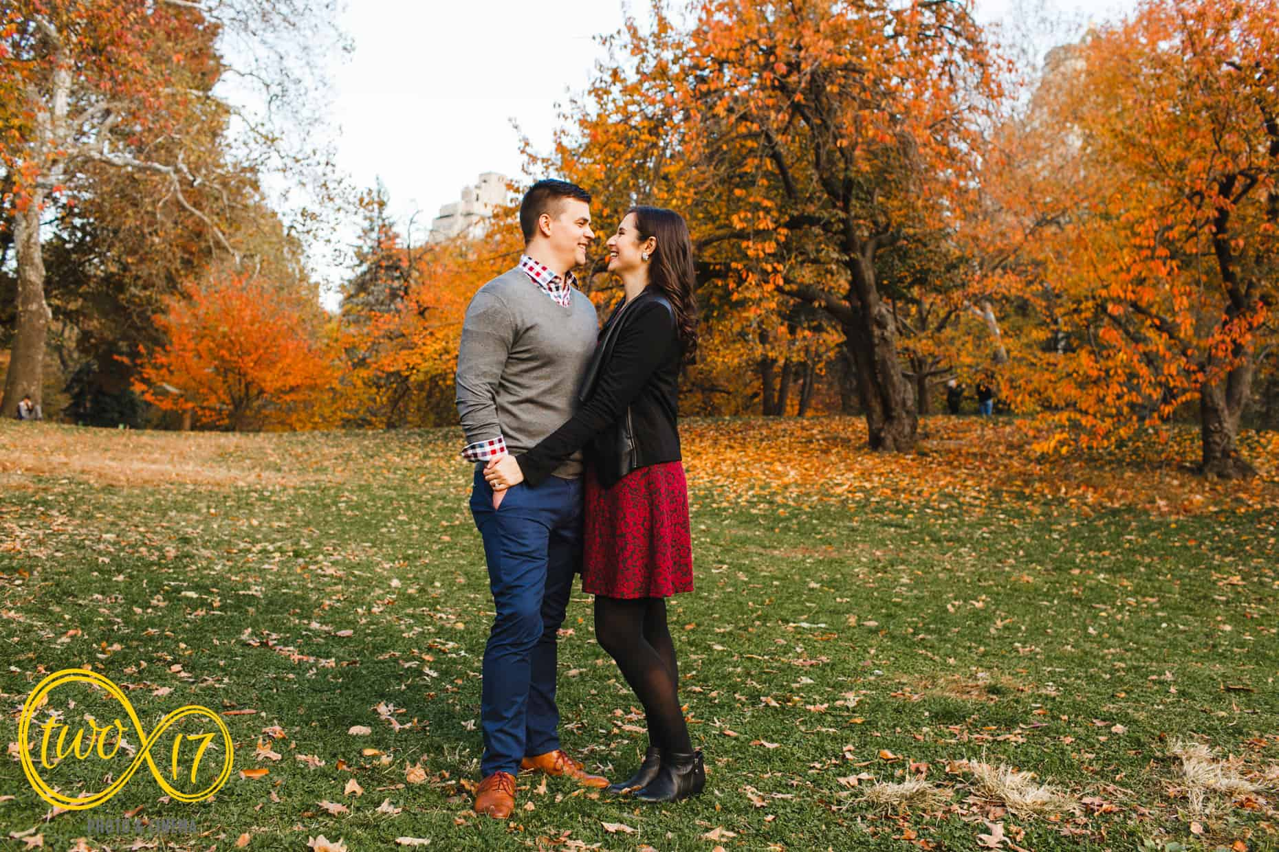 Fall Engagement Session New York