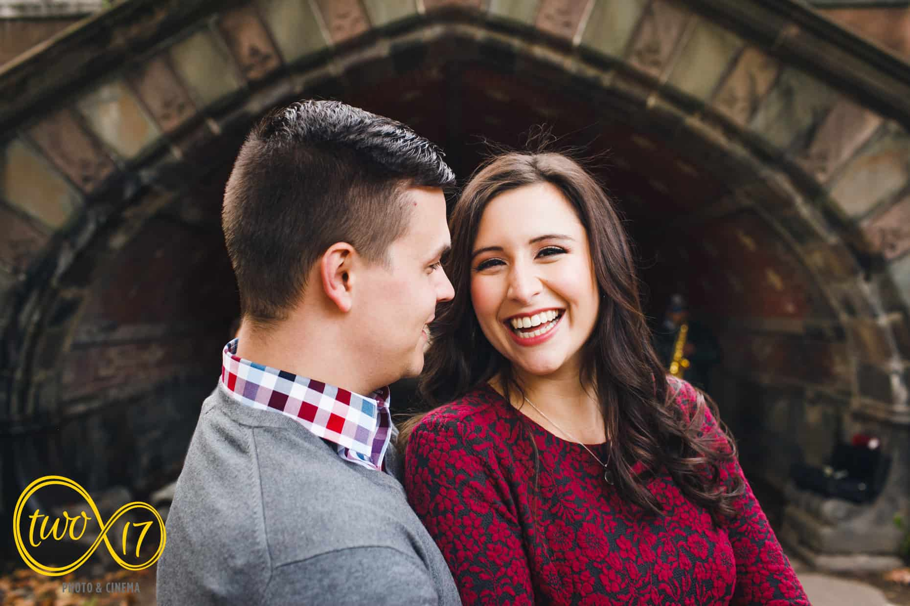 Fall Engagement Session Central Park
