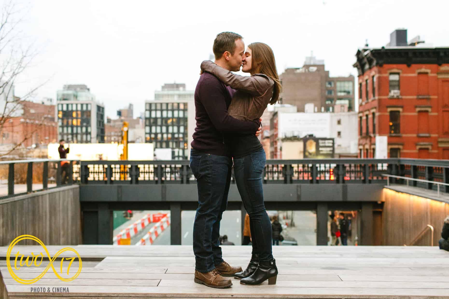 High Line Engagement Session New York