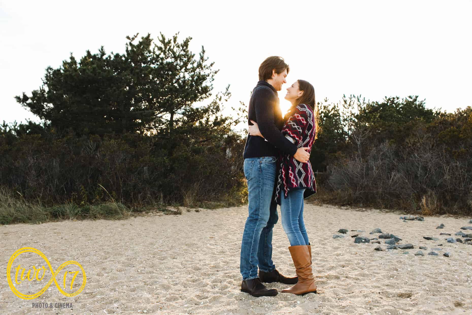 Engagement Photographer Long Beach Island