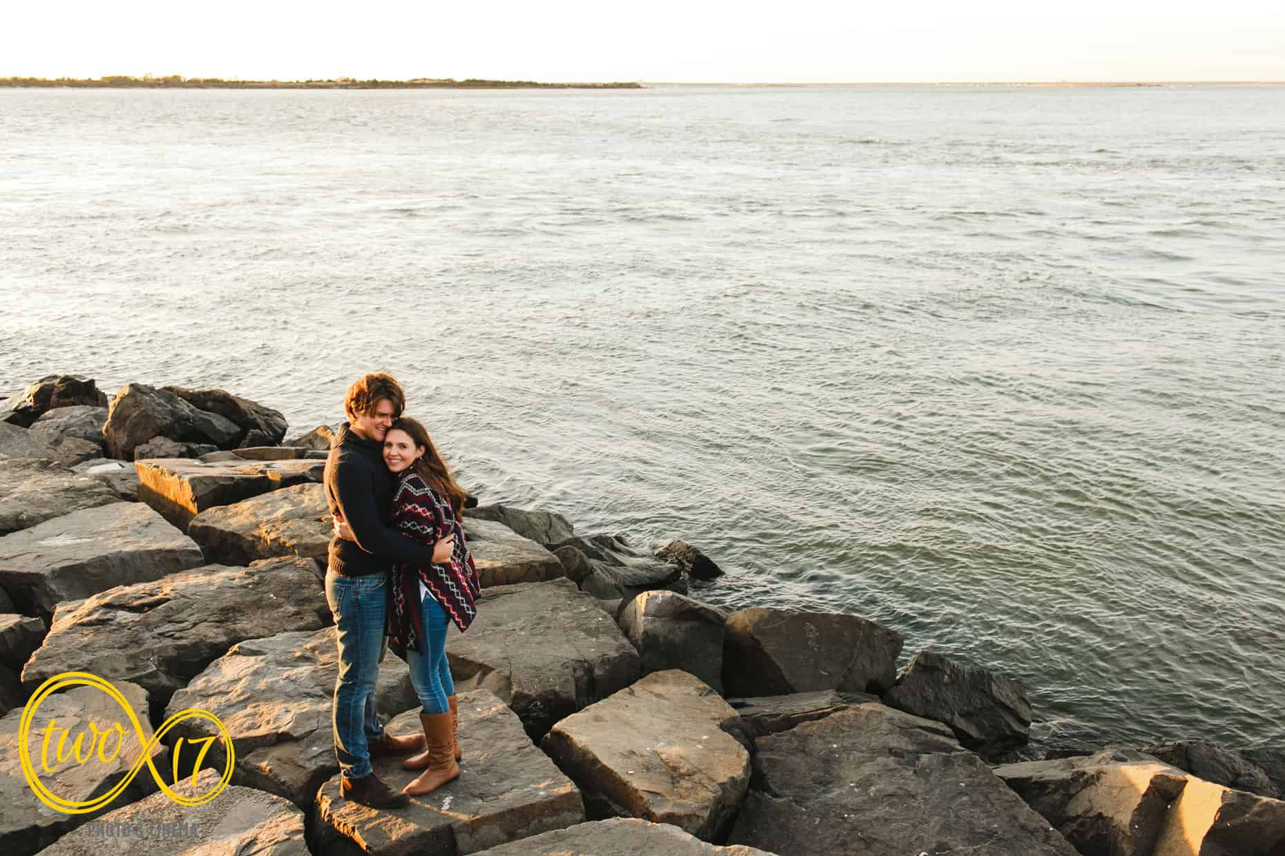 Jersey Shore Engagement Photos