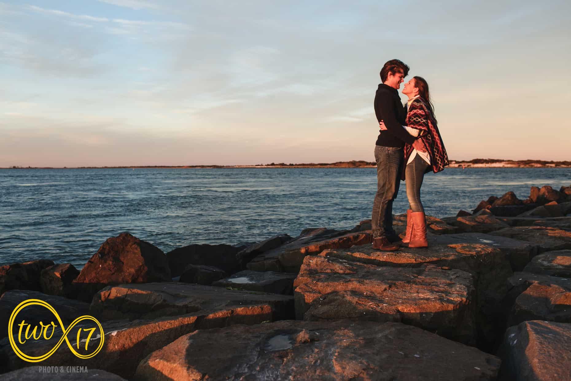 Engagement Photos Jersey Shore
