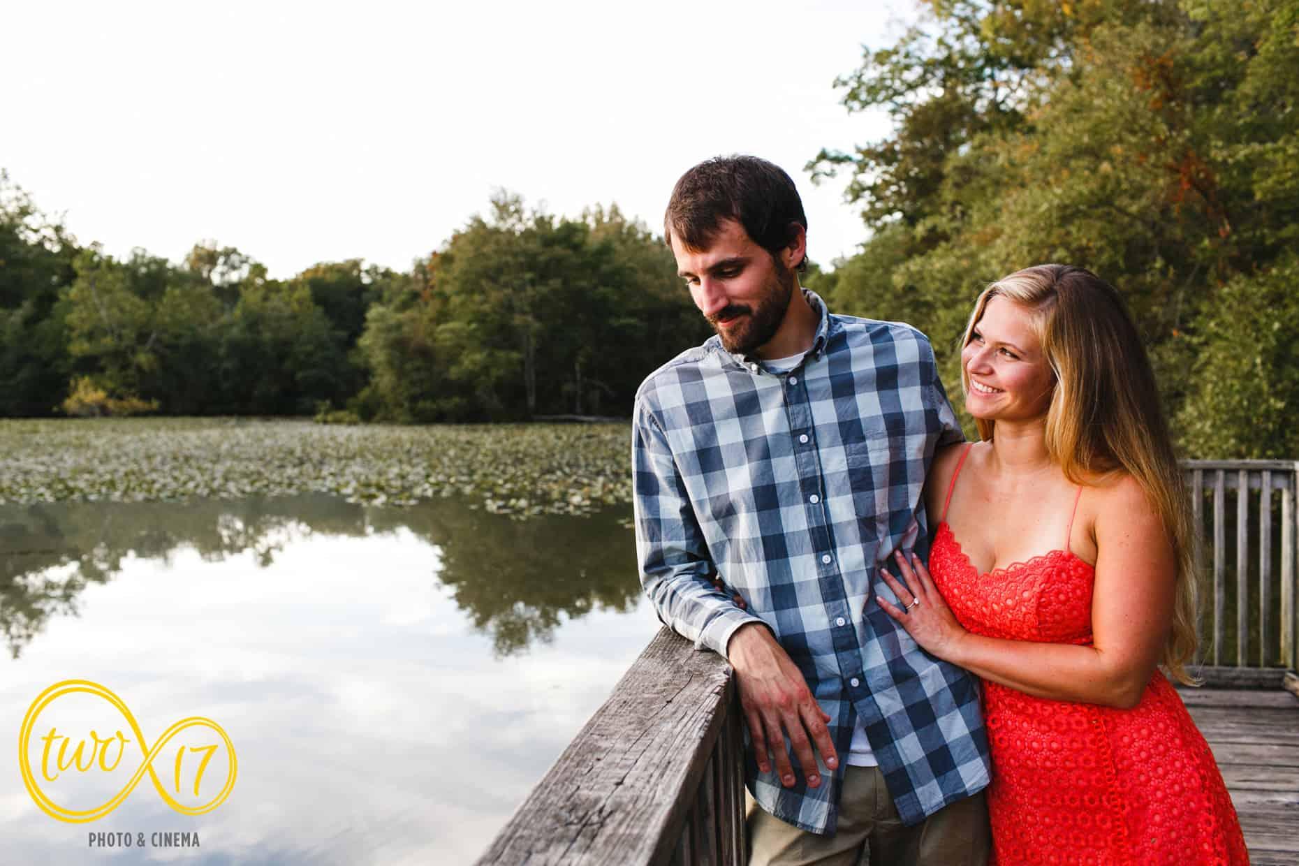 Historic Smithville Park Engagement Photos