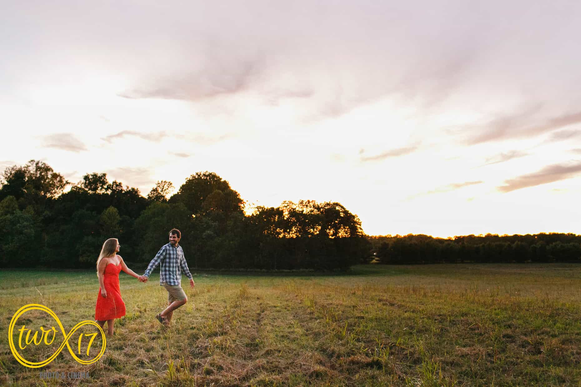 Sunset Engagement Session New Jersey
