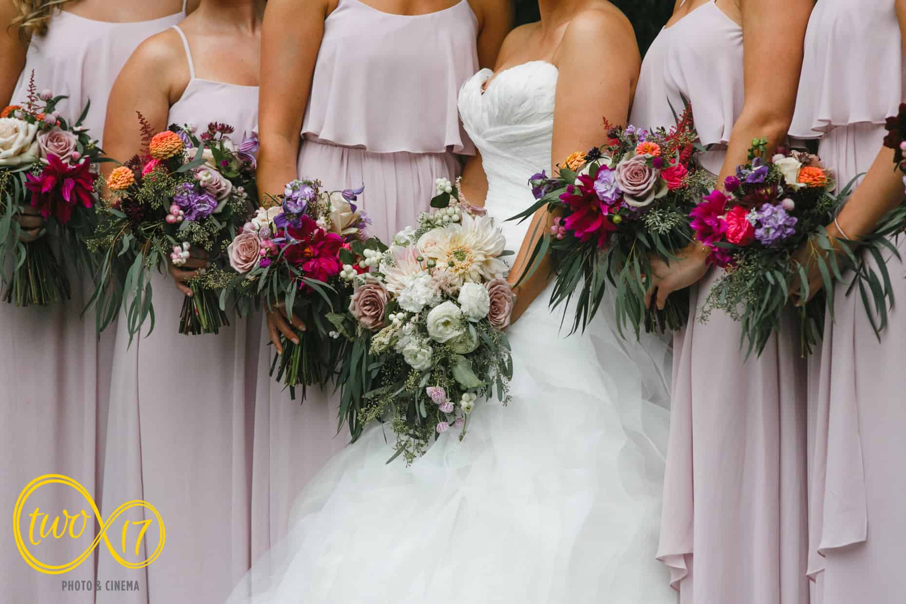 Philadelphia area wedding reception