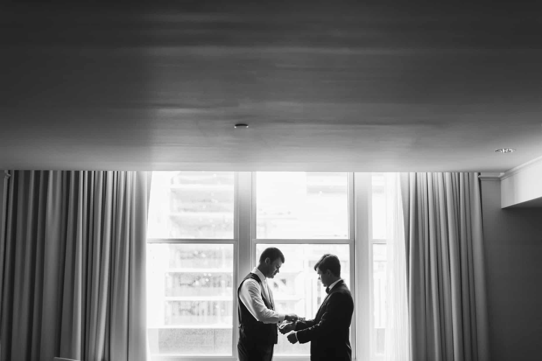 Philadelphia Loews Wedding Photos