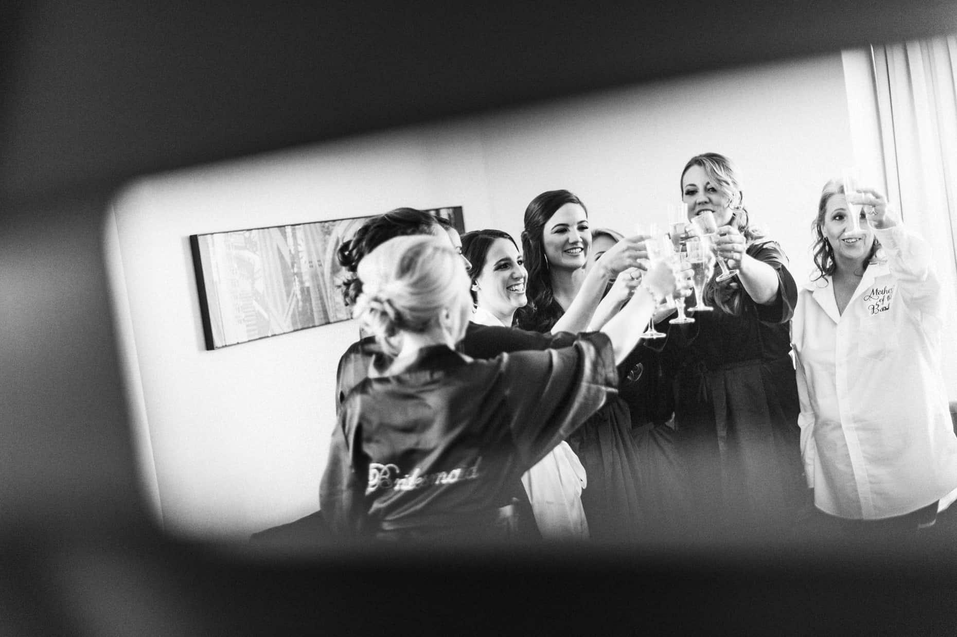 Philadelphia Loews Wedding Photographer
