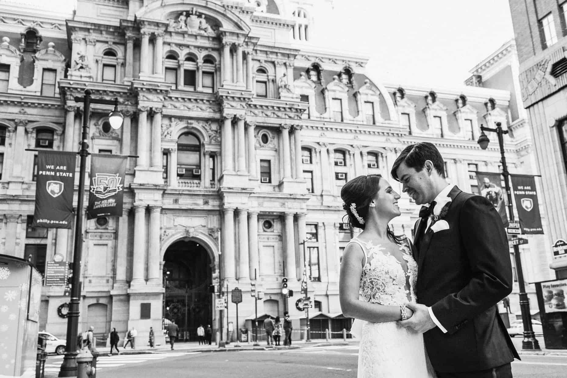 Philadelphia City Hall Wedding Picture