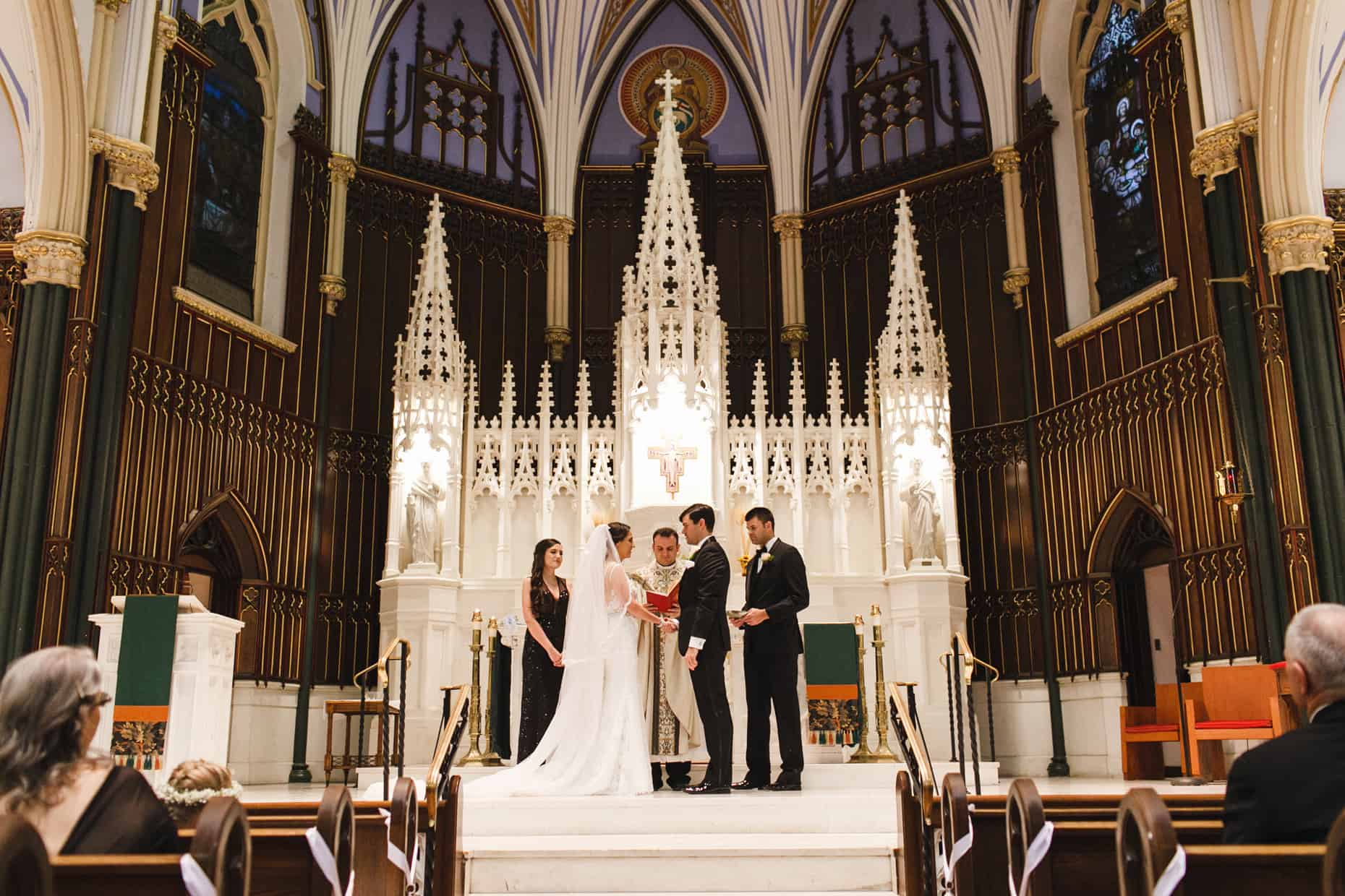 St. John The Evangelist Weddings Philadelphia