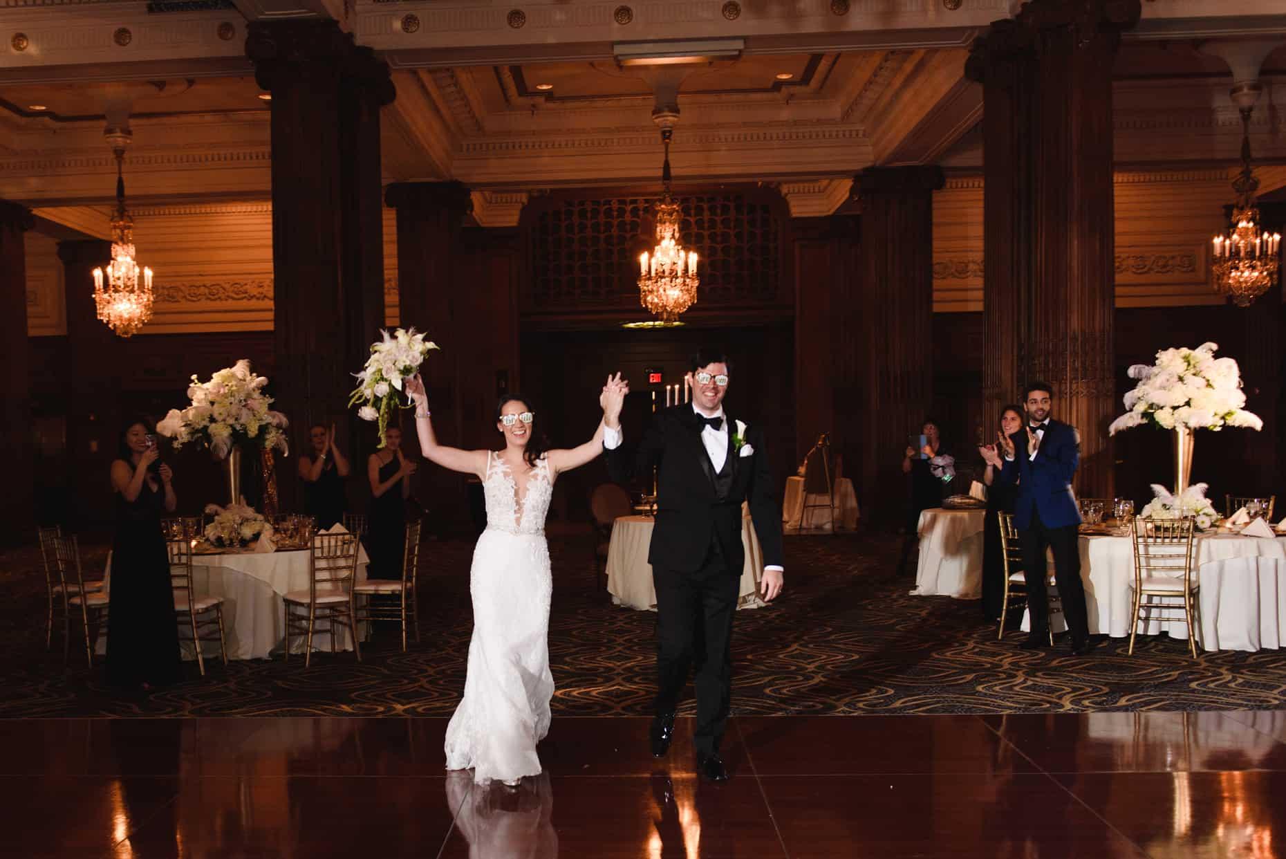 Crystal Tea Room Philadelphia Wedding Photographer