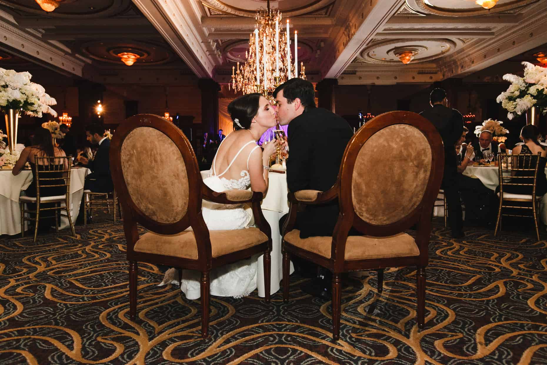 Philadelphia wedding reception Crystal Tea Room